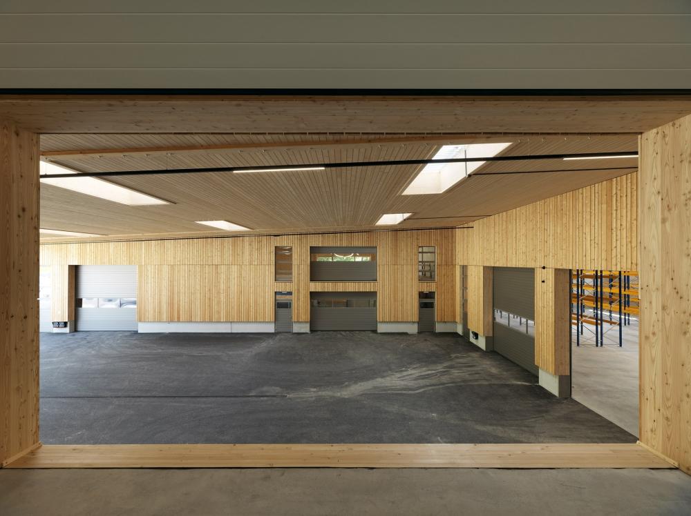 Lagerhalle Grossauer